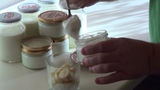 Домашний йогурт с бананом. Рецепт приготовления