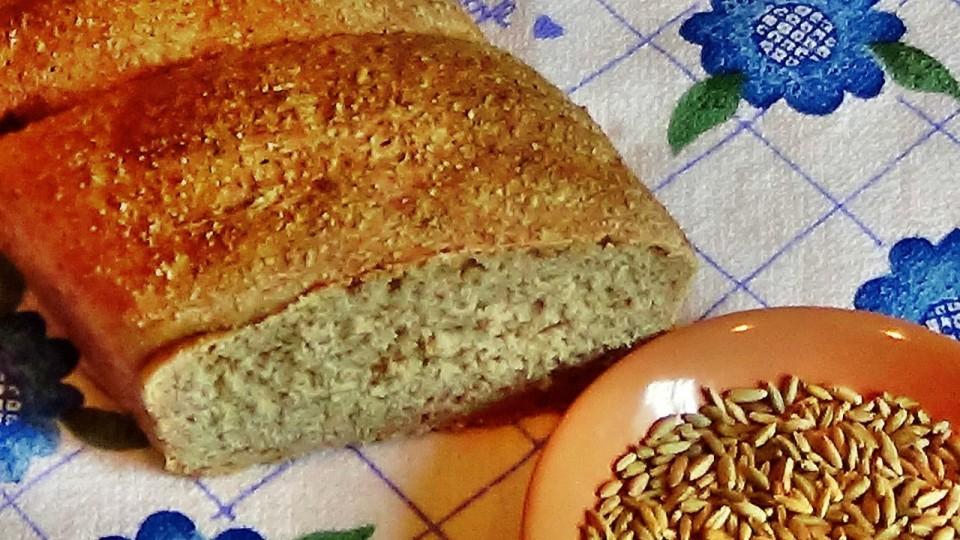 Домашний хлеб с мукой грубого помола. Рецепт приготовления