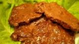 Говядина в брусничном соусе . Рецепт приготовления