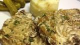 Говяжья печень в сметане. Рецепт приготовления