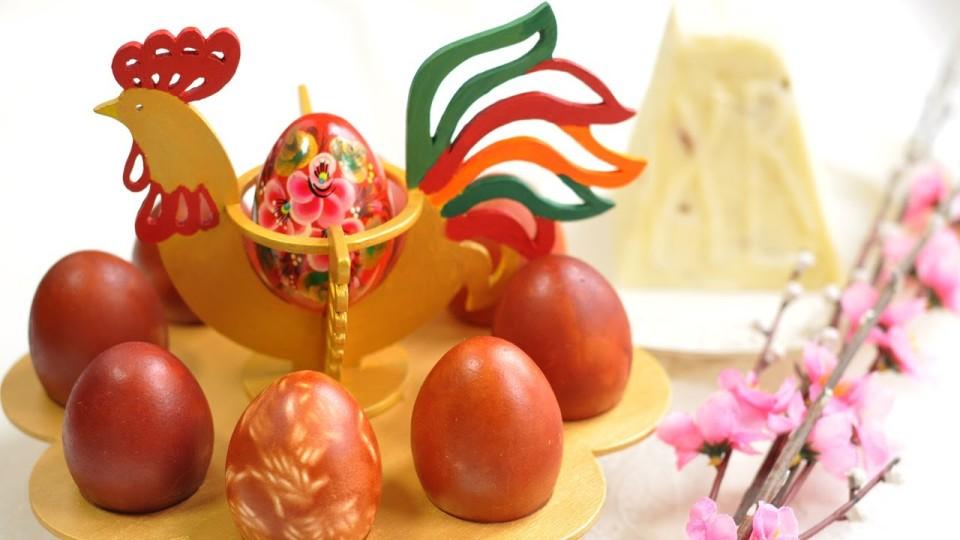 Красим яйца на пасху. Крашенки. Готовим дома