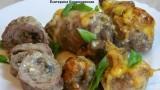 Крученники с грибами. Рецепт приготовления