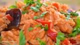 Курица с рисом и баклажанами Рецепт приготовления