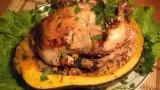 Курица, запеченная в тыкве. Рецепт приготовления