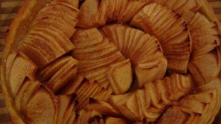 Пирог яблочный (яблочная галета). Рецепт приготовления