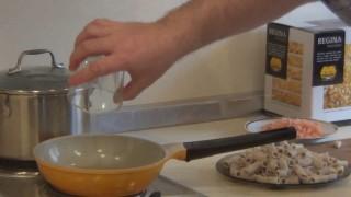 Ригатони с креветками (рецепт балканской кухни).Рецепт приготовления