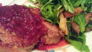 Свинина с луковым соусом. Рецепт приготовления