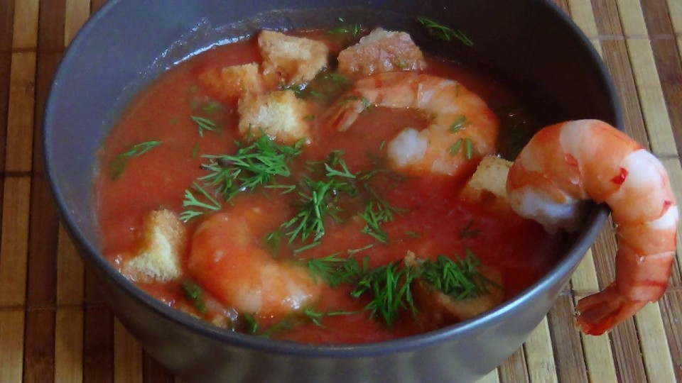 Томатный суп рецепт приготовления