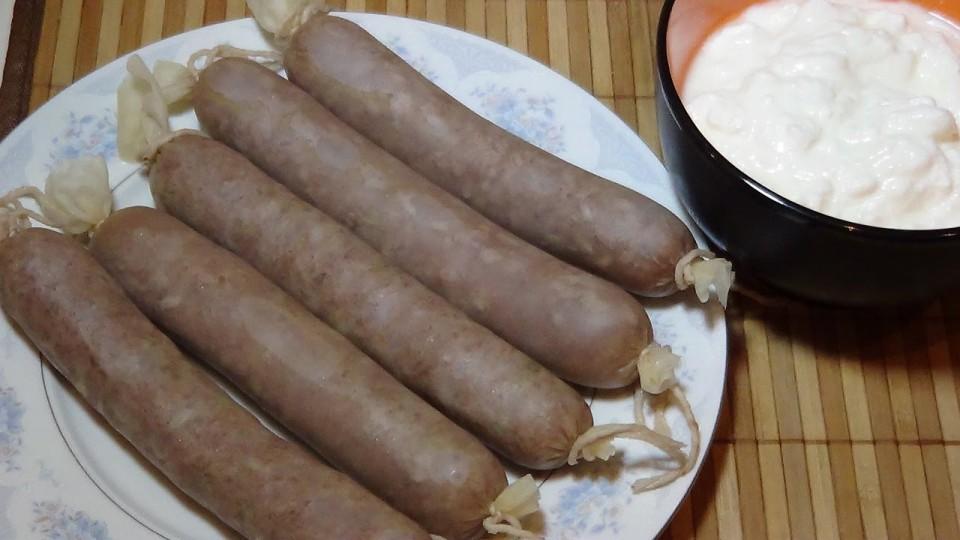 Тутырма- татарская домашняя колбаса. Рецепт приготовления