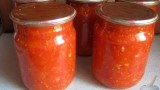 Яблочная аджика. Рецепт приготовления