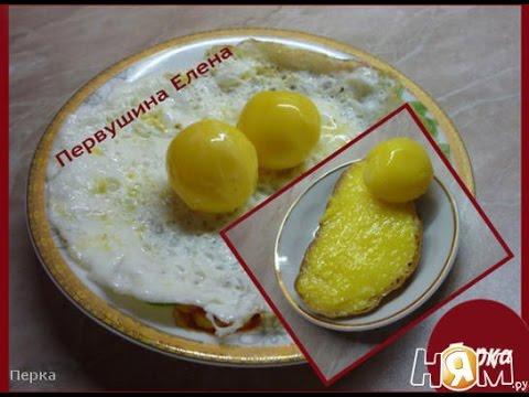 Яичница. Рецепт приготовления