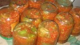 Зеленые помидоры в аджике.Рецепт приготовления