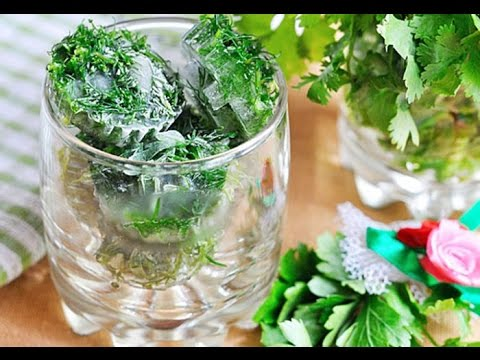 Как заморозить зелень рецепт