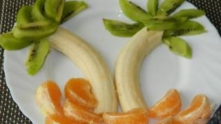 Простой фруктовый салат. Рецепт