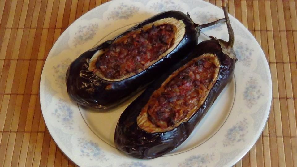 Баклажаны фаршированные («Башмачки»)- Рецепт приготовления