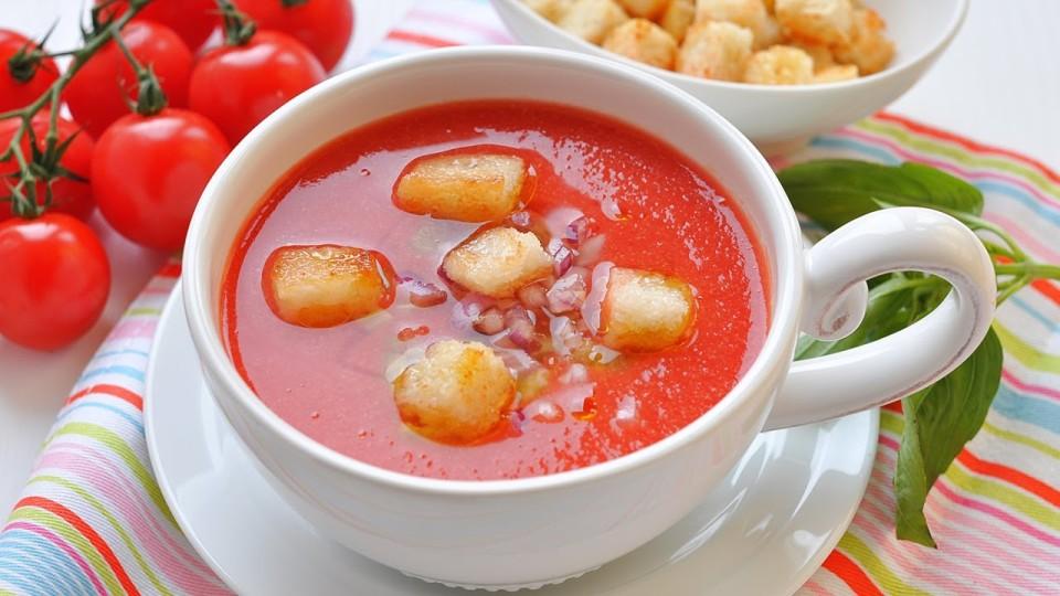 Гаспачо (холодный томатный суп) рецепт приготовления