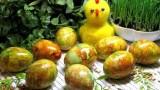 Крашенки. Пасхальные яйца