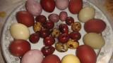 Пасхальные яйца натуральные красители