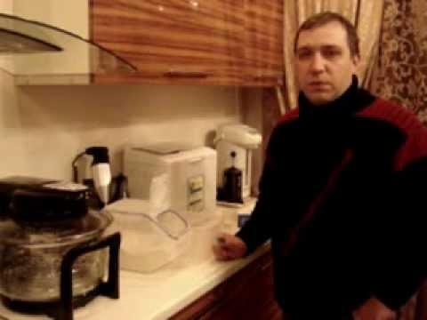 Приготовление закваски для домашнего хлеба (1-й день).