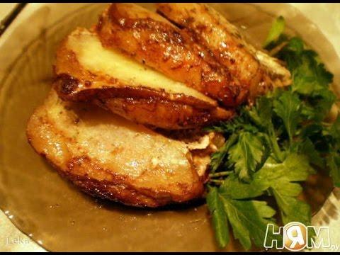 Свинина запеченная с грушей. Рецепт приготовления