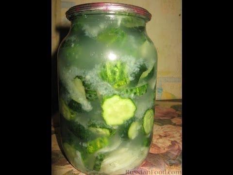 Сырой салат из огурцов на зиму. Рецепт приготовления