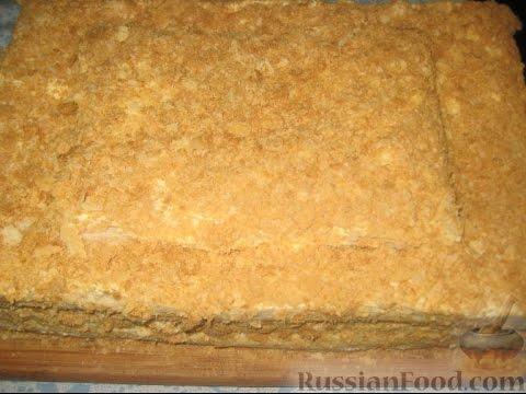Торт Наполеон. Рецепт приготовления. Видеоинструкция