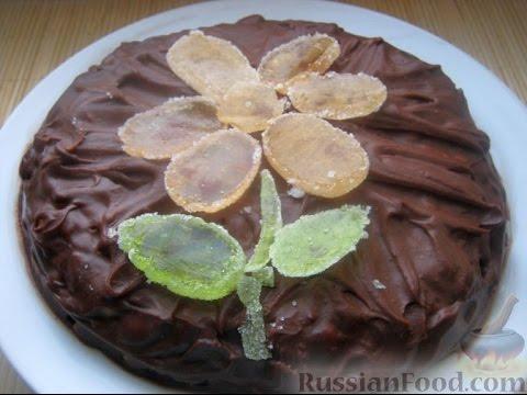 Торт Сникерс без выпечки. Рецепт приготовления. Видеоинструкция